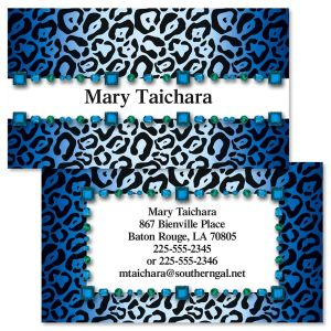 Exotic Double-Sided Business Cards