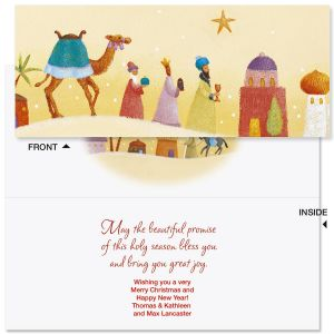 Peace on Earth Slimline Holiday Cards