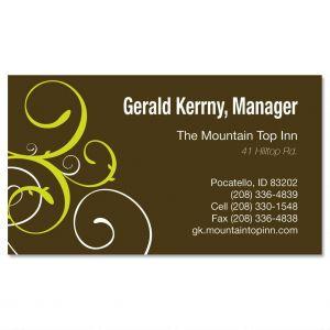 Swirl  Business Cards