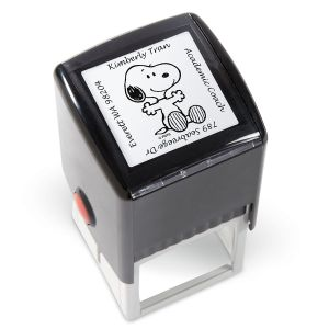 PEANUTS® Square Address Stamp