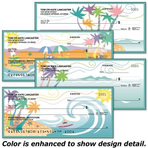 Tropical Moods Personal Checks