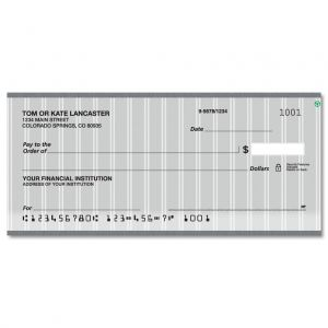 Pinstripe Personal Checks