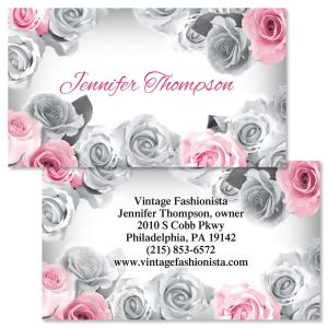 First Blush Double-Sided Business Cards