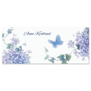 Lavender Beauty  Personalized Slimline Note Cards