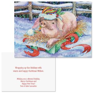 The Best Gift  Note Card Size Christmas Cards