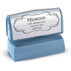 Elegant Frame Address Stamp