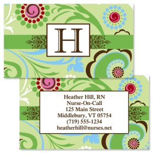 Fanciful  Double-Sided Business Cards