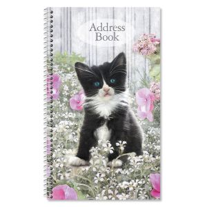 Purrfectly Feline Lifetime Address Book