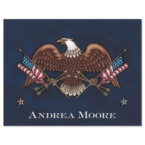 Liberty Personalized Note Cards