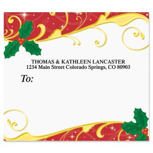 Holiday Dazzle Package Labels