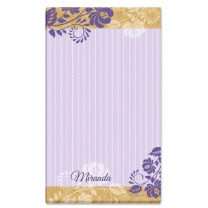 Frosty Lavender Notepad