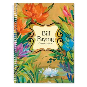 Spring Garden Bill Paying Organizer