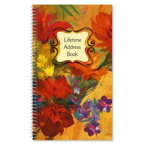 Spring Garden Lifetime Address Book