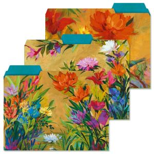 Spring Garden File Folders  (3 Designs)