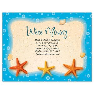 Starfish Trio Postcards