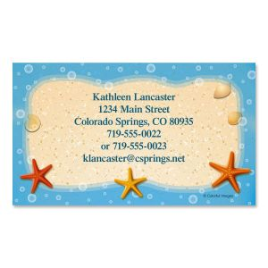 Starfish Trio Business Cards
