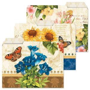 Grande Fleur File Folders  (3 Designs)