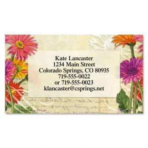 Gerbera Business Cards