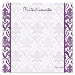 Aubergine Elegance Note Cube Refill