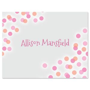 Dusty Pearl Personalized Note Cards