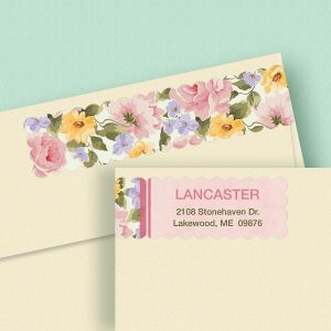 Garden Flair Connect Wrap Diecut Address Labels
