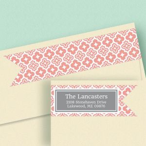 Metropolitan Connect Wrap Diecut Address Labels