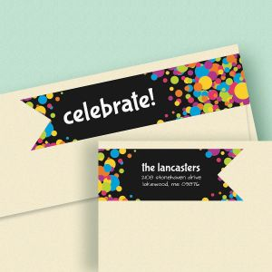 Jubilee Connect Wrap Diecut Address Labels