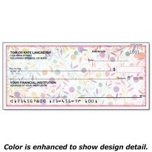 Color Swirl Personal Checks