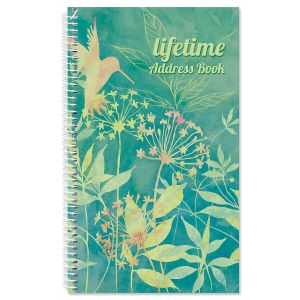 Nature Song Lifetime Address Book