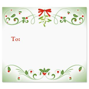 Mistletoe Magic Package Labels