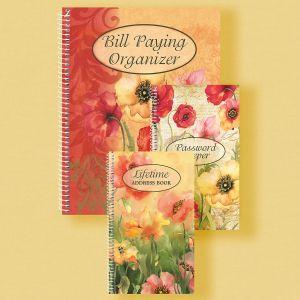 Poppies Organizer Books