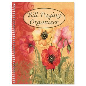 Poppies Bill Paying Organizer Buy 2 or more only $9.99 each.