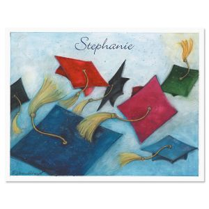 Graduation Day Personalized Note Cards