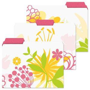 Floret File Folders