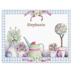 Topiary Garden Personalized Note Cards