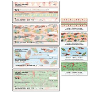 Urban Tribal Single Checks with Matching Address Labels