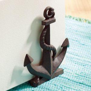 Cast Iron Anchor Door Stop