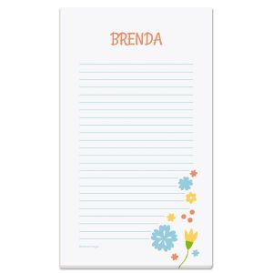 Simply Blooming Notepad