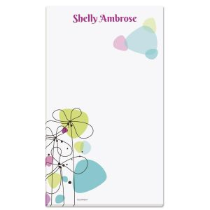 Sketched Flowers Notepad