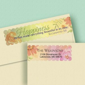 Devotion Connect Wrap Diecut Address Labels  (4 Designs)