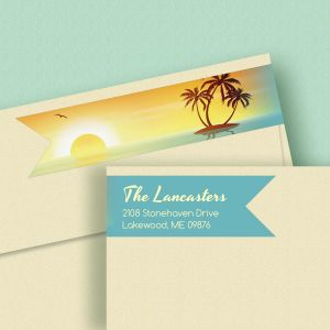 Tradewinds Connect Wrap Diecut Address Labels  (4 Designs)