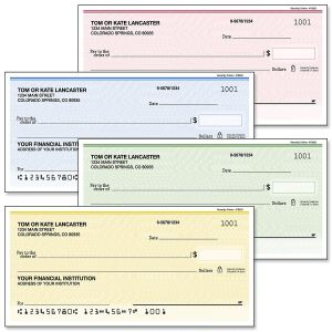 Security Collection Personal Checks