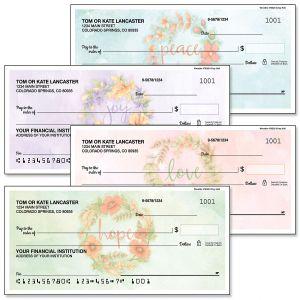 Wreaths Personal Checks