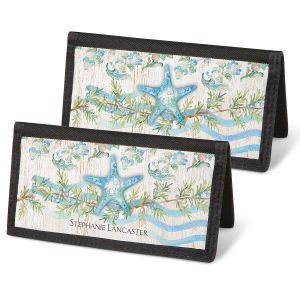 Ocean Tide Personal Checkbook Covers