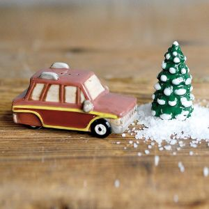 Car and Tree Salt and Pepper Set