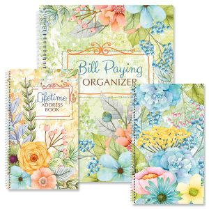 Sentiment Garden Organizer Books