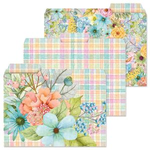 Sentiment Garden File Folders  (3 Designs)