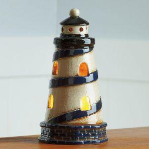 Ceramic Lighthouse Tabletop Night Light