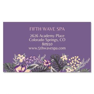 May Flowers Standard Business Cards