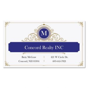 Initial Branding Standard Business Cards
